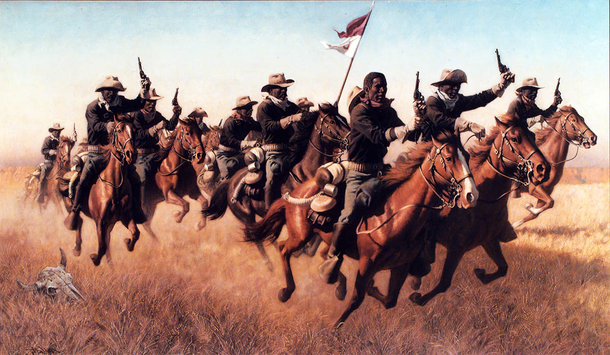 Buffalo Soldiers Cavalry